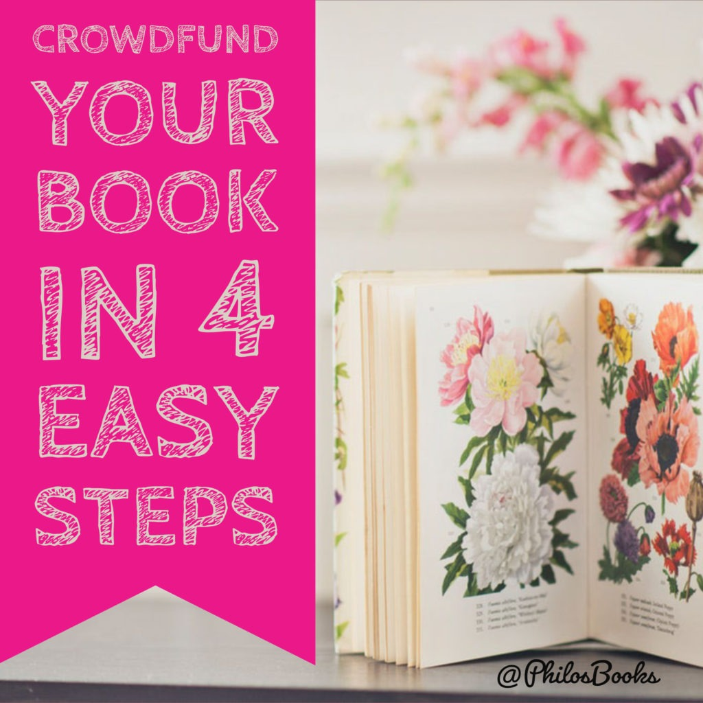 Crowdfund Your Book in 4 Easy Steps